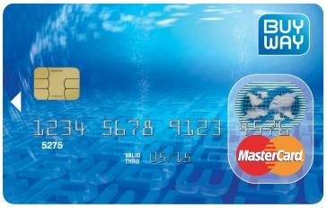 buyway kredietkaart
